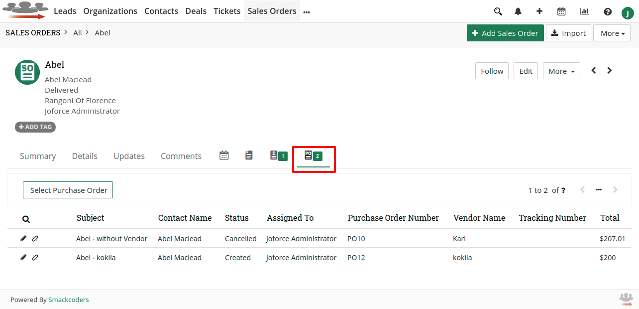 joforce-convert-so-to-po-view-purchase-order-records-list-in-sales-order-record-detail-view