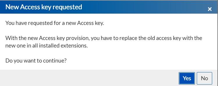 acess-key-change
