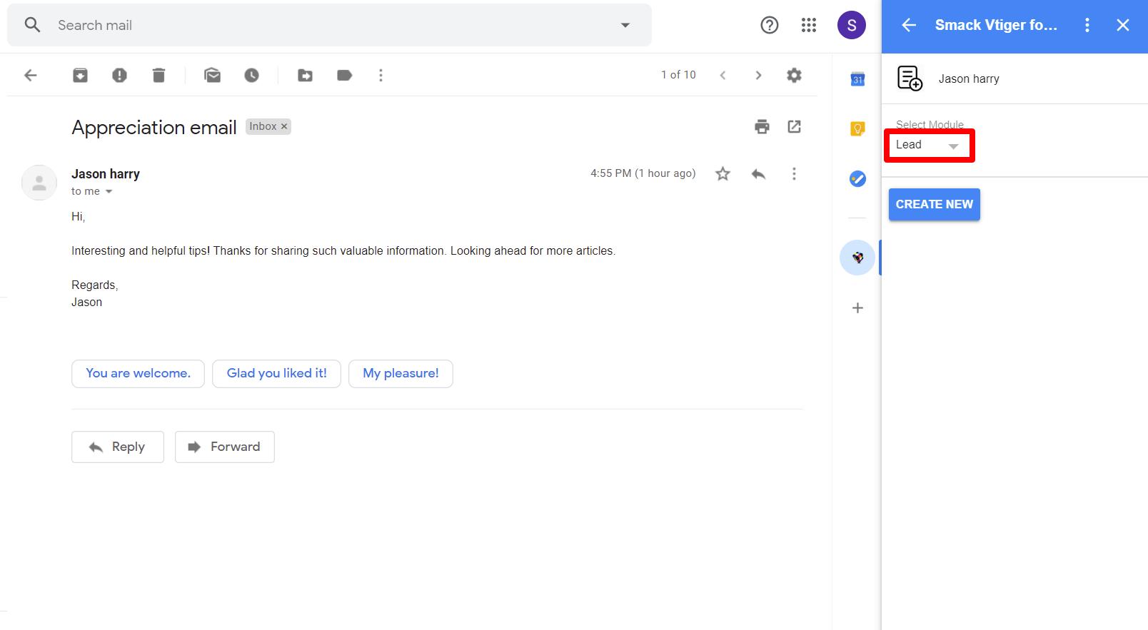 choose-module-type-vtiger-gmail-addon
